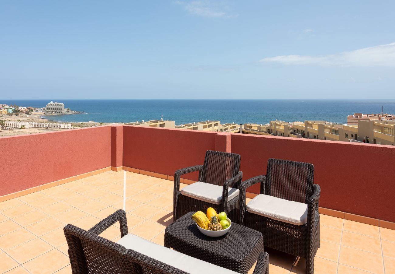 Apartamento en El Medano - Home2Book Amazing Sea View El Medano Pool & Wifi