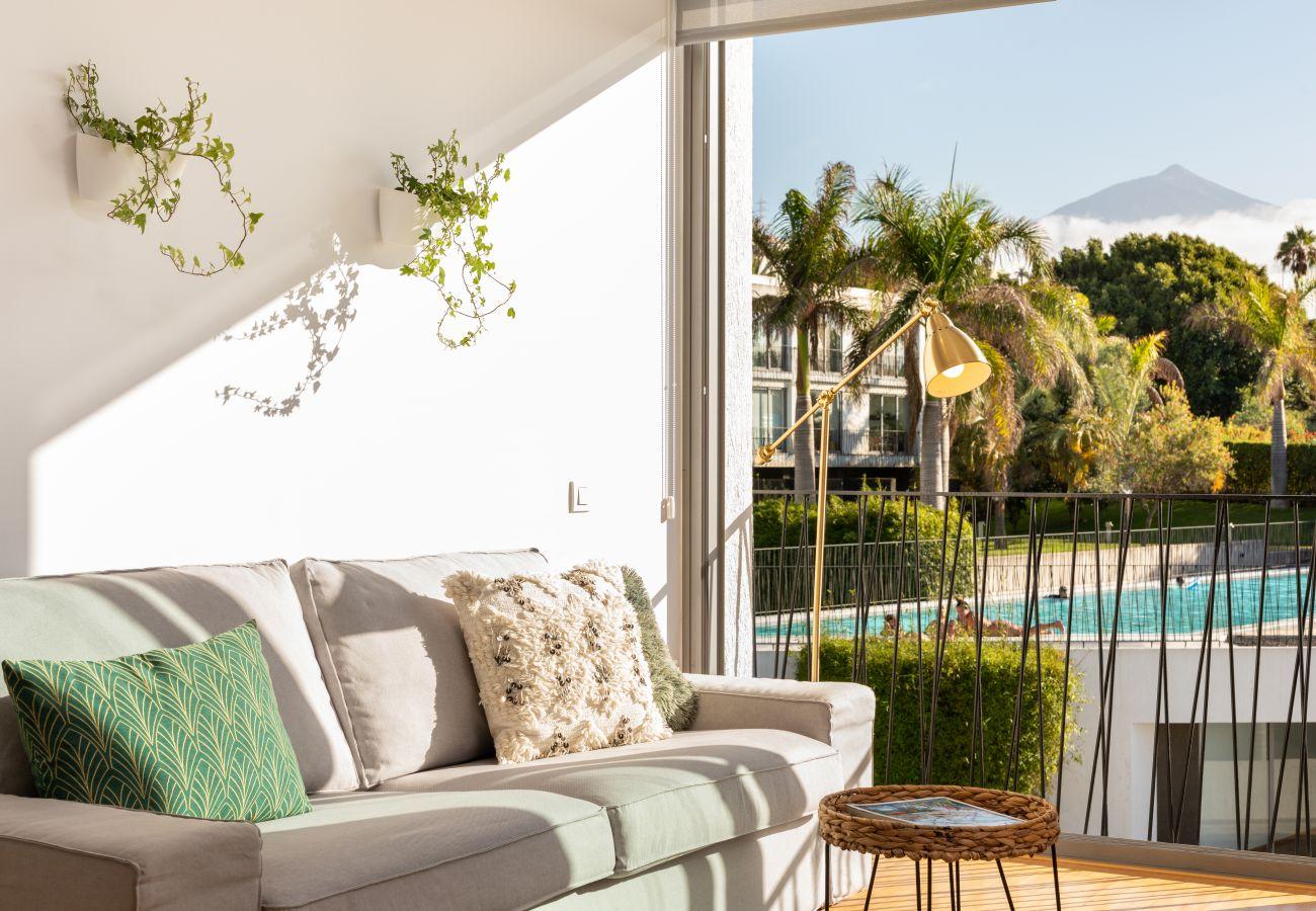 Apartamento en Santa Ursula - Apartamento de diseño vanguardista con vistas al Teide