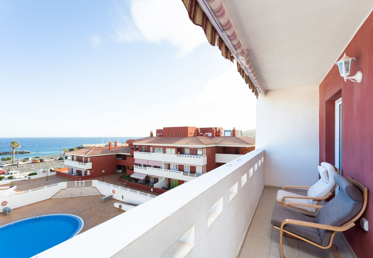 Apartment in Güimar - Home2Book Sea Front Duplex Terrace Pool +Wifi